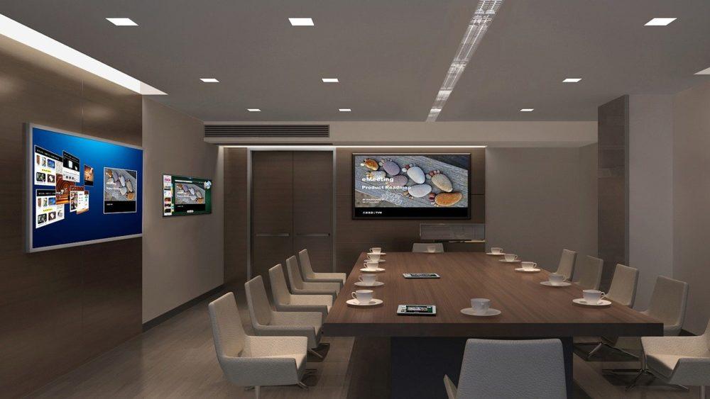 Bureau affichage dynamique - Digital Flight - Agence audiovisuelle Grand Ouest