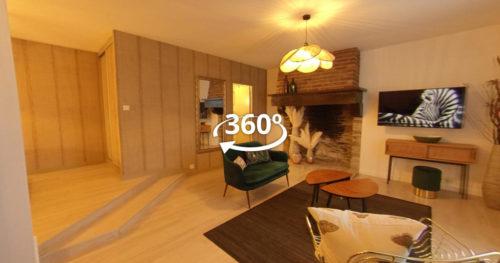 Manoir de la Pommeraie - Visite virtuelle 360 - Digital Flight - Agence audiovisuelle Grand Ouest